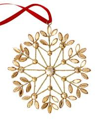 gold snowflake ornament only at macy s