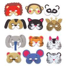 foam animal masks bulk pack of 12 masks animal masks masking
