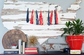 patriotic decor white and blue patriotic decor all things thrifty