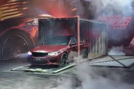 prototype drive 2018 bmw m5 need for speed payback lets you drive the new 2018 bmw m5