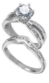 set ring palladium wedding sets danforth diamond