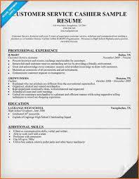 6 cashier resume sample budget template letter