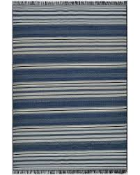 Blue Outdoor Rugs Deals On Global Stripe Blue Outdoor Rug 9 X12 Threshold