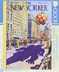 new yorker thanksgiving day parade 1000 pieces jigsaw