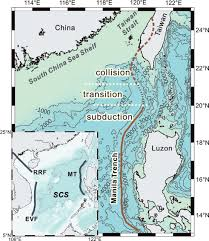 South China Sea On Map by Sedimentation In Remnant Ocean Basin Off Sw Taiwan With
