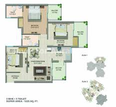 2bhk flat apartment for sale in sector eta ii