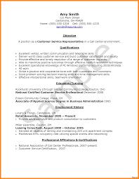 call center resume exles customer service call center resume sle objective representative