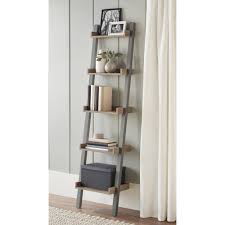 Slanted Bookcases 10 Spring Street Bedford Narrow Leaning Bookcase Multiple Colors