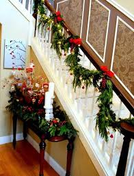 Decorating Banisters For Christmas 560 Best Christmas Stair Decor Images On Pinterest Stairs