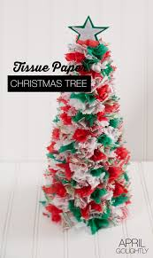 Paper Christmas Tree Crafts For Kids Tissue Paper Christmas Trees Tissue Paper Christmas Decor And