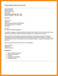 sample cover letter for professor position fresh sample cover
