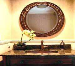 Oval Bathroom Mirrors Brushed Nickel Oval Bath Mirror Brushed Nickel Mirror Design