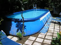 nice simple design of the houston above ground pools that can be