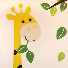 animals and tree wall sticker by parkins interiors animals and tree wall sticker