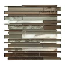 al3300 glass tile and stone strip mosaic backsplash schillings