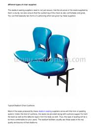 Types Of Chairs by Different Types Of Furniture Given By The Arena Seat Manufacturers