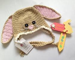 easter bunny hat crochet easter bunny hat ruby custard