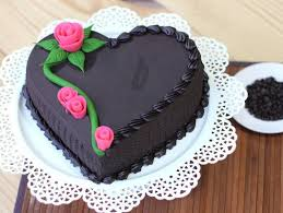 heart shaped chocolate heart shaped chocolate cake affair cake bakingo