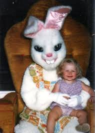 easter bunny costume the best pictures of creepy easter bunnies scaring the chocolate