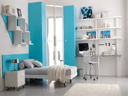 attractive for teenage girls endearing blue and white bedroom for