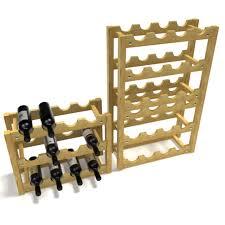 3d model blonde stackable wine bottle rack cgtrader