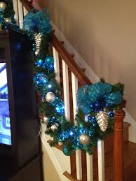 stair christmas garland ideas crafts to try pinterest