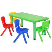 play table and chairs best choice products multicolored kids plastic table and 4 chairs
