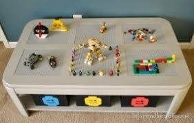 Children S Lego Table Childrens Play Table With Storage Foter