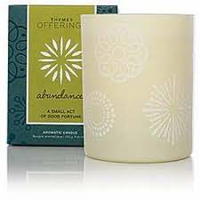 thymes candles thymes offerings candle abundance