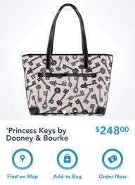 new disney dooney u0026 bourke princess keys collection released today