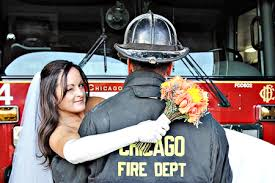 firefighter wedding firefighter wedding firefighter wedding