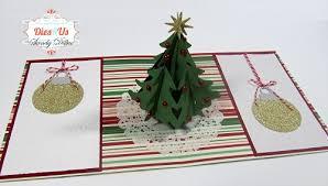 dies r us merry pop up tree