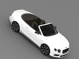 bentley sports car convertible bentley continental gt v8 s convertible 2014 by creator 3d 3docean