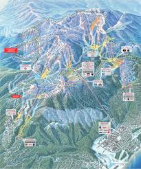 Squaw Trail Map Heavenly Der Skifahrerhimmel Auf Erden Am Lake Tahoe Canusa