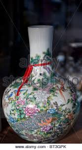 Hand Painted Chinese Vase A Hand Painted Antique Chinese Porcelain Tea Or Wine Pot Decorated