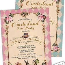 alice in wonderland first birthday from cupiddesigns on etsy