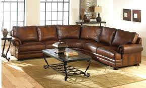 Traditional Leather Sofas Traditional Curved Leather Sectional Sofa Centerfieldbar Com