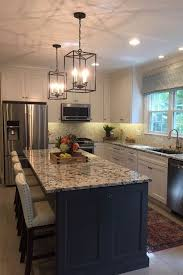 kitchen cabinets contrast colors a big island in a contrasting color adds function and