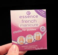 essence gel nails at home french manicure tip stickers u2013 great