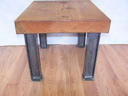 Modern Metal Furniture Legs by Modern Industrial Coffee Table Legs I Beam Structural Steel