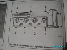 lexus sc300 valve cover gasket replacement valve cover tightening sequence toyota nation forum toyota car