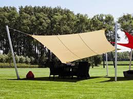 10 Ft Patio Umbrella by Luxury Umbrellas Ingenua 10 Foot Square Anodized Aluminum Shade