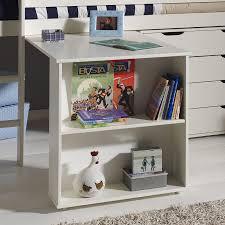 ik bureau enfant bureau en pin massif pour lit mezzanine marilou enfant coloris pin