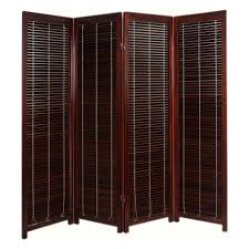 Shutter Room Divider Tranquility Wooden Shutter Room Divider Hayneedle