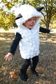 sheep costume you dress up and you get candy that s how it works i recently