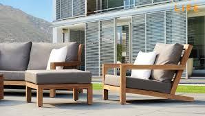 Outdoor Lounge Vis A Vis Lounge Set Block Teak Tuinmeubel Collectie Life Outdoor Living