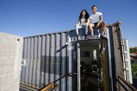 Shipping Container Apartments Large Shipping Containers Are Being Turned Into Apartments Times