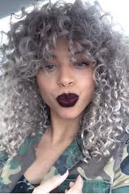 getting hair curled and color best 25 curly silver hair ideas on pinterest black hair grey