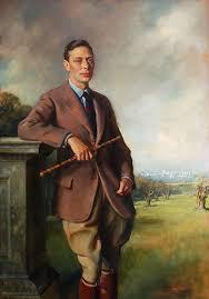 sir oswald birley 1880 1952 portrait of king george vi oil on