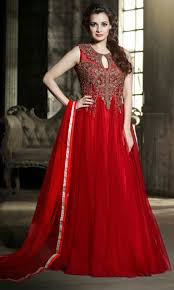 party wear gowns ethnic indian gowns for women in net fabrics online shopping